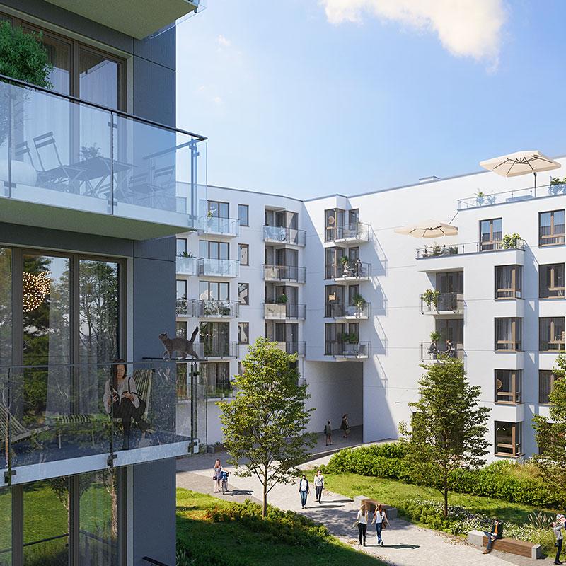 Apartamenty Gliwice Dąbrowskiego